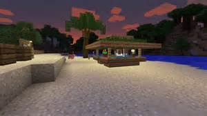 Minecraft Tiki Hut minecraft tiki bar tutorial