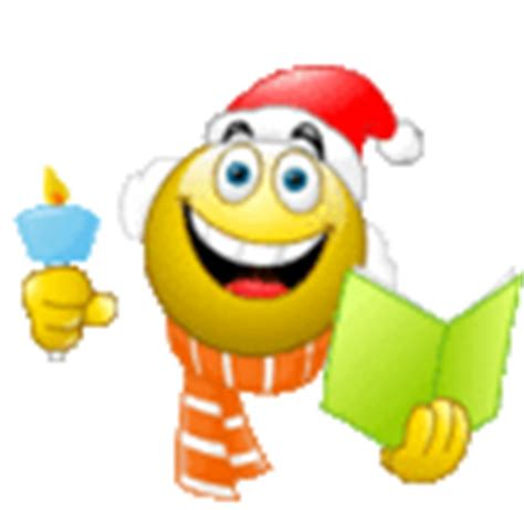 animated holiday emoticons smileys singing carols emoticon emoticons and smileys for msn skype yahoo