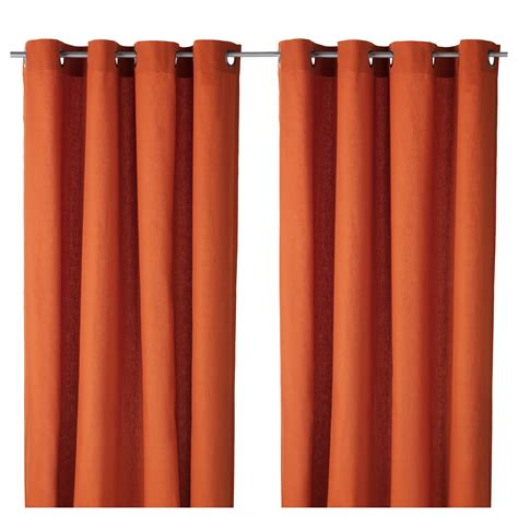 ikea orange curtains black and white living room curtains