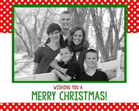 Family Portrait Card Template by Free Card Templates Projects