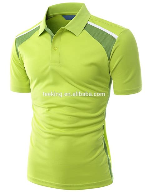 Polo Black Bhn Spndex Fit L cheap polyester mesh fit polo shirts with logo design