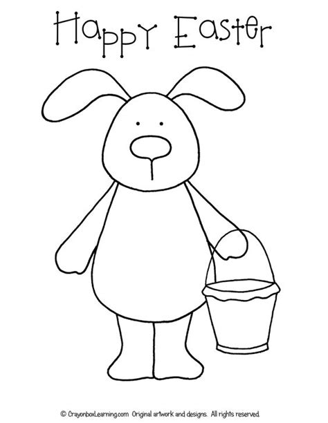 easter bunny coloring sheets free easter bunny coloring sheet traceable