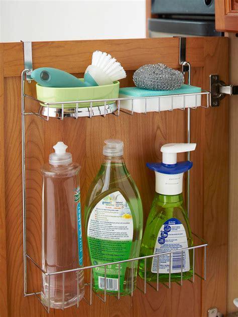 kitchen sink cabinet organizer bhg style spotters