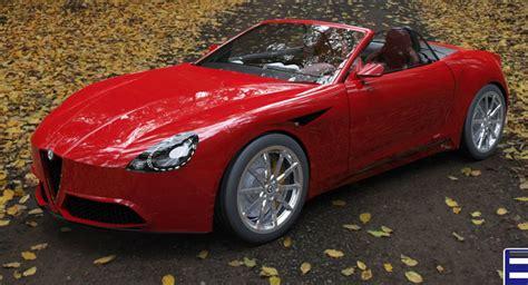 New Alfa Romeo Spider new alfa romeo spider imagined with quadrifoglio flavor