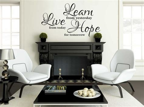 vinyl wall quote learn  hope wall art sticker