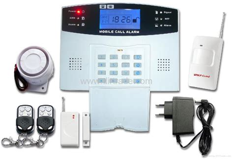 Security Alarm Rumah gsm home alarm system with lcd screen yl 007m2b wolf