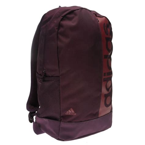 Adidas Luc Linear Logo Backpack adidas linear backpack