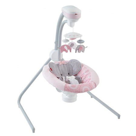 fisher price cradle 'n swing blush safari walmart.com