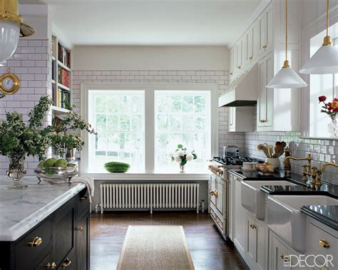 decorating kitchen all white dream kitchen elle decor made by girl