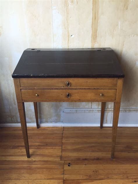 Small Vintage Writing Desk Italian Antique Writing Desk