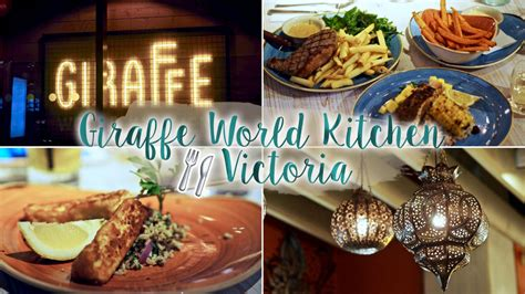 Kitchen World Reviews by Giraffe World Kitchen Review Food Drink