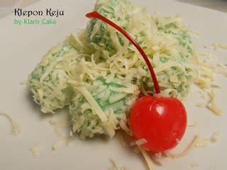 Tepung Ketan Bola klaris cake made with bola bola keju aka klepon