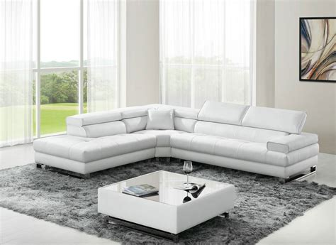 Classic Sectional Sofa Classic Design Sectional Sofa In Italian Leather Dallas Esf L421