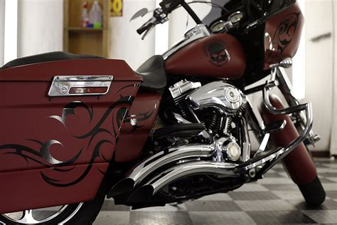 motorcycle colors harley davidson motorcycle color change car wrap city