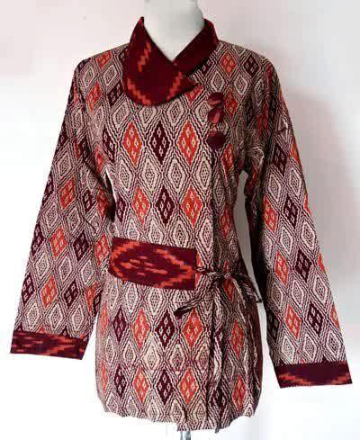 Batik Dress Cheers best 25 model baju batik ideas on modern
