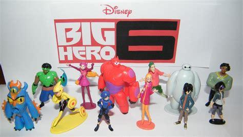 Big 6 Figure disney big 6 figure set of 12 playset with hiro