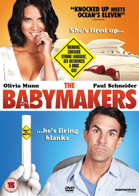 film comedy film 2012 movies the babymakers dvds canada u k