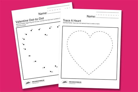free printable preschool valentine worksheets valentine worksheets paging supermom