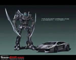 Transformers Lamborghini Lamborghini Aventador Evil In Transformers 4 Mycarzilla