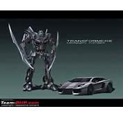 Lamborghini Aventador Evil Role In Transformers 4  Mycarzilla