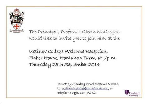 ustinov college welcome pack durham