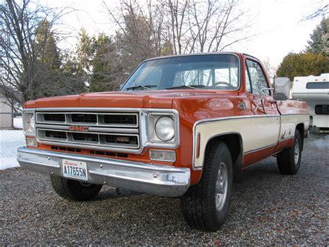 gmc 1976 truck 1976 gmc classic 25 3 4 ton gmc trucks for sale