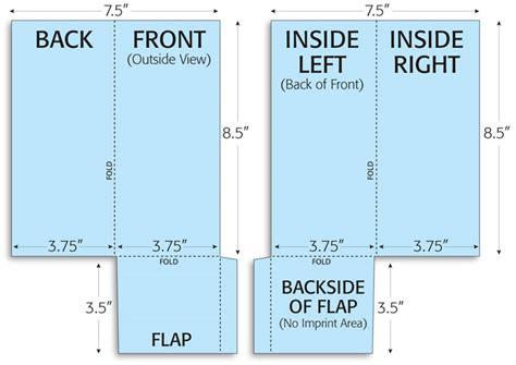 Gnf Pocket Brochure Folding Print Layouts Pocket Brochure Template