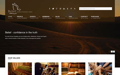 30 best church wordpress themes 2016 athemes