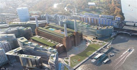 Apartments Plans by Architects Unveil Plans For New Hotel At Battersea Power
