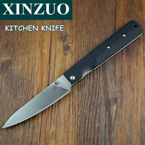 good quality knives for kitchen newest 440a steel pocket folding kitchen chef knife high