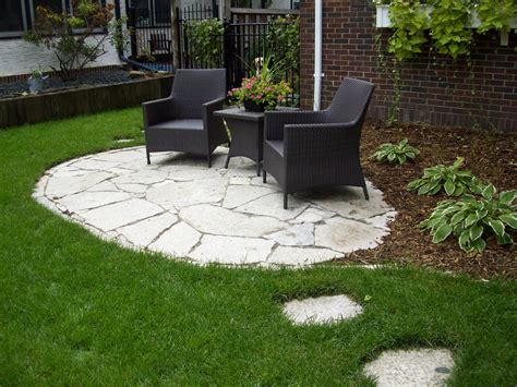 backyard stone patio yard front on pinterest arbors pergolas and front