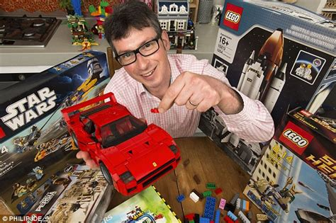 fans of lego build a fortune from lego stashed in the attic and you ll