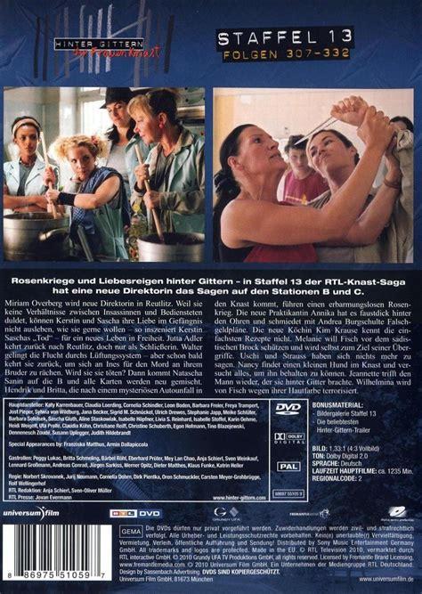 hinter gittern der frauenknast staffel 1 hinter gittern der frauenknast staffel 13 dvd oder
