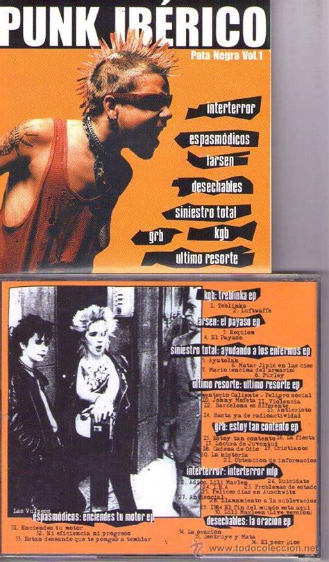 obsidiana negra volume 1 1975731522 punk ib 233 rico pata negra vol 1 cd punk larsen comprar cds de m 250 sica rock en todocoleccion