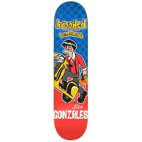 krooked deck krooked gonz kwadrophenia 8 38 skateboard deck evo