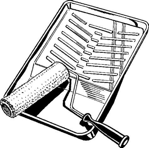 Roller Schwarz Lackieren by Paint Rollers Clip Art 38