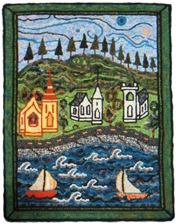 rug hooking mahone bay 128 best images about textile and pattern 20th century on quilt textile artists