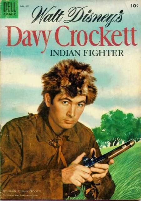four color four color 631 walt disney s davy crockett indian