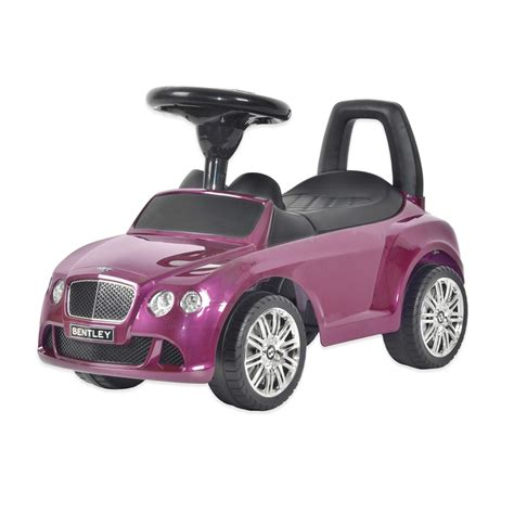 big bentley cars licensed bentley push kids ride on car in purple