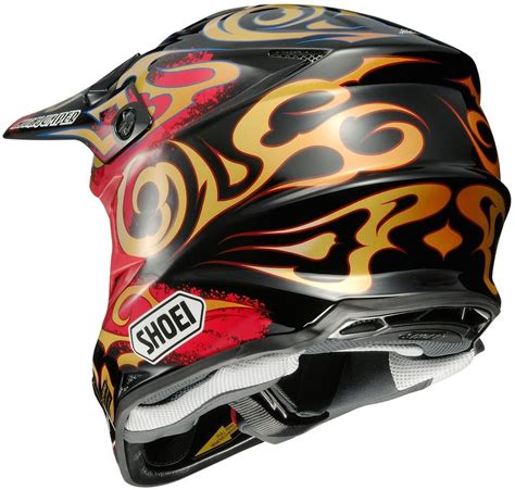 shoei motocross 404 33 shoei vfx w taka dot approved motocross mx helmet