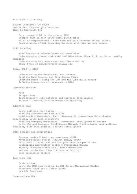 chethan resume msbi developer resume msbi ssas ssis ssrs