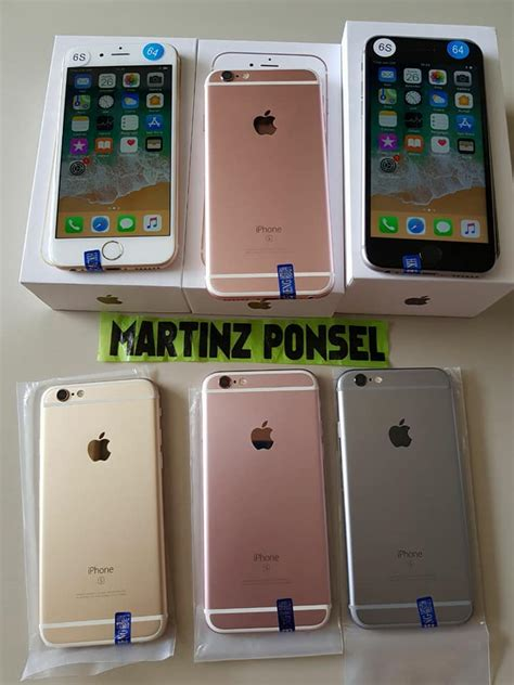 Iphone 6 16gb Grey By Warna Ponsel martinz ponsel posts