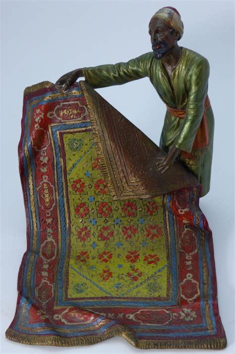rug merchant bergman cold painted vienna bronze rug merchant