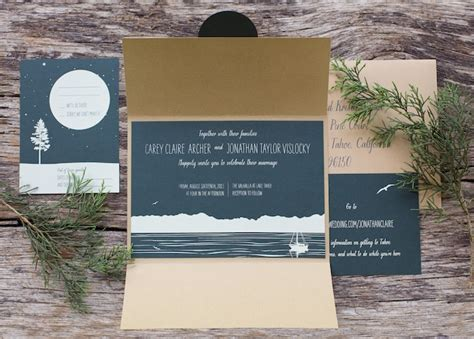 s woodsy lodge wedding invitations - Woodsy Themed Wedding Invitations