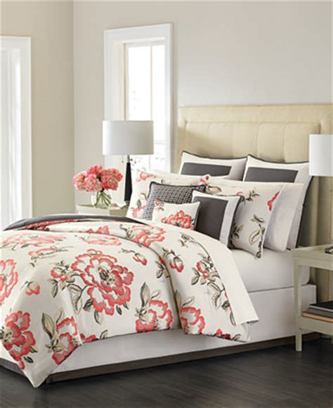 martha stewart collection bedding martha stewart collection peony blossom 9 piece bedding