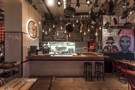 Bistro Interior Design by Spiler Bistro Pub Budapest 187 Retail Design