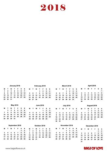 make your own 2018 calendar free free personalised photo calendar 2018 print free calendar