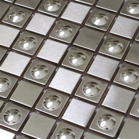 Metal Wall Tiles For Kitchen by 3d Square Silver Color Stainless Steel Metal Tiles Special