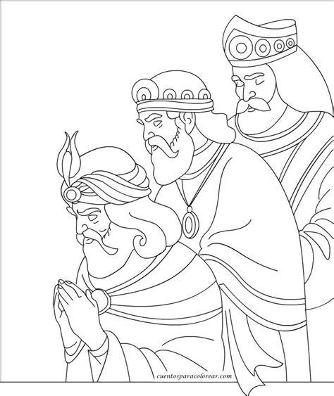 dibujos de navidad para colorear e imprimir reyes magos dibujos de melchor gaspar y baltasar para colorear tres
