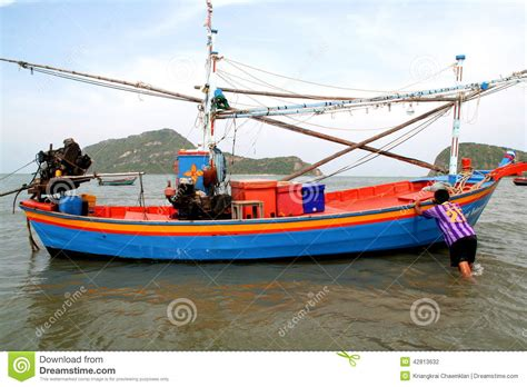 buy a fishing boat in thailand fishing tourist boat in thailand editorial photo
